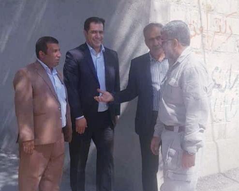 پیام تبریک شهردار باشت به سردار حبیبی