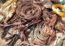 دستگیری سارق با اعتراف به ۱۰ فقره سرقت کابل برق در گچساران