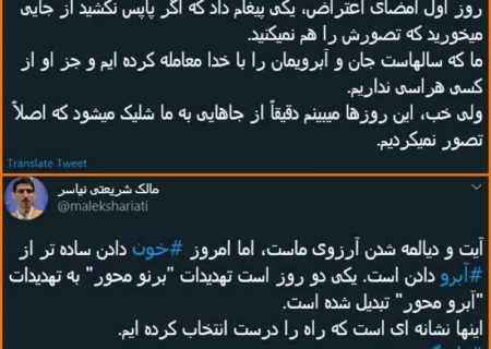 روایت جدید نماینده تهران از دور جدید تهدیدهای حامیان تاجگردون؛ از برنو تا آبرو+عکس