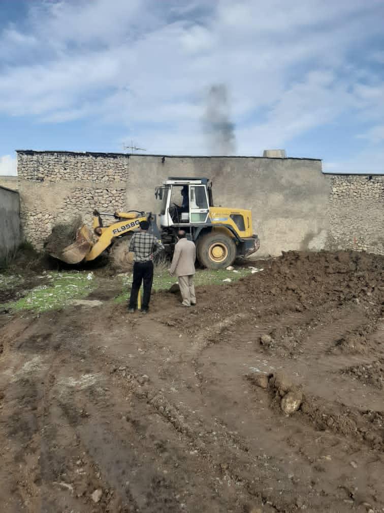 عملیات اجرای پارک جدید محلهای در باشت