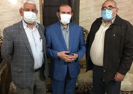 عکسهای یادگاری قشقاییها با سید قدرتالله حسینی