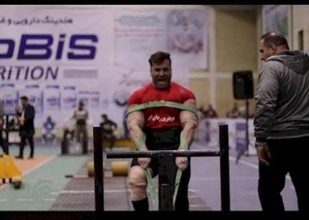 نائب قهرمان قویترین مردان ایران یک کهگیلویه و بویراحمدی شد+عکس