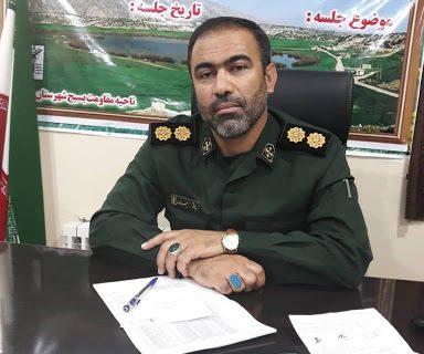 فرمانده سپاه جدید گچساران مشخص شد