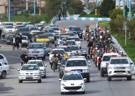جشنی که هیچگاه متوقف نمیشود/گچسارانیها پیروزی انقلاب را اینگونه جشن گرفتند+تصاویر