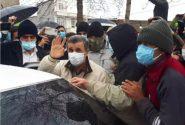 ورود احمدینژاد به سیسخت+عکس