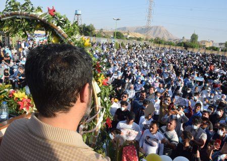 تازهترین پیام سیدناصر حسینی به مردم گچساران و باشت